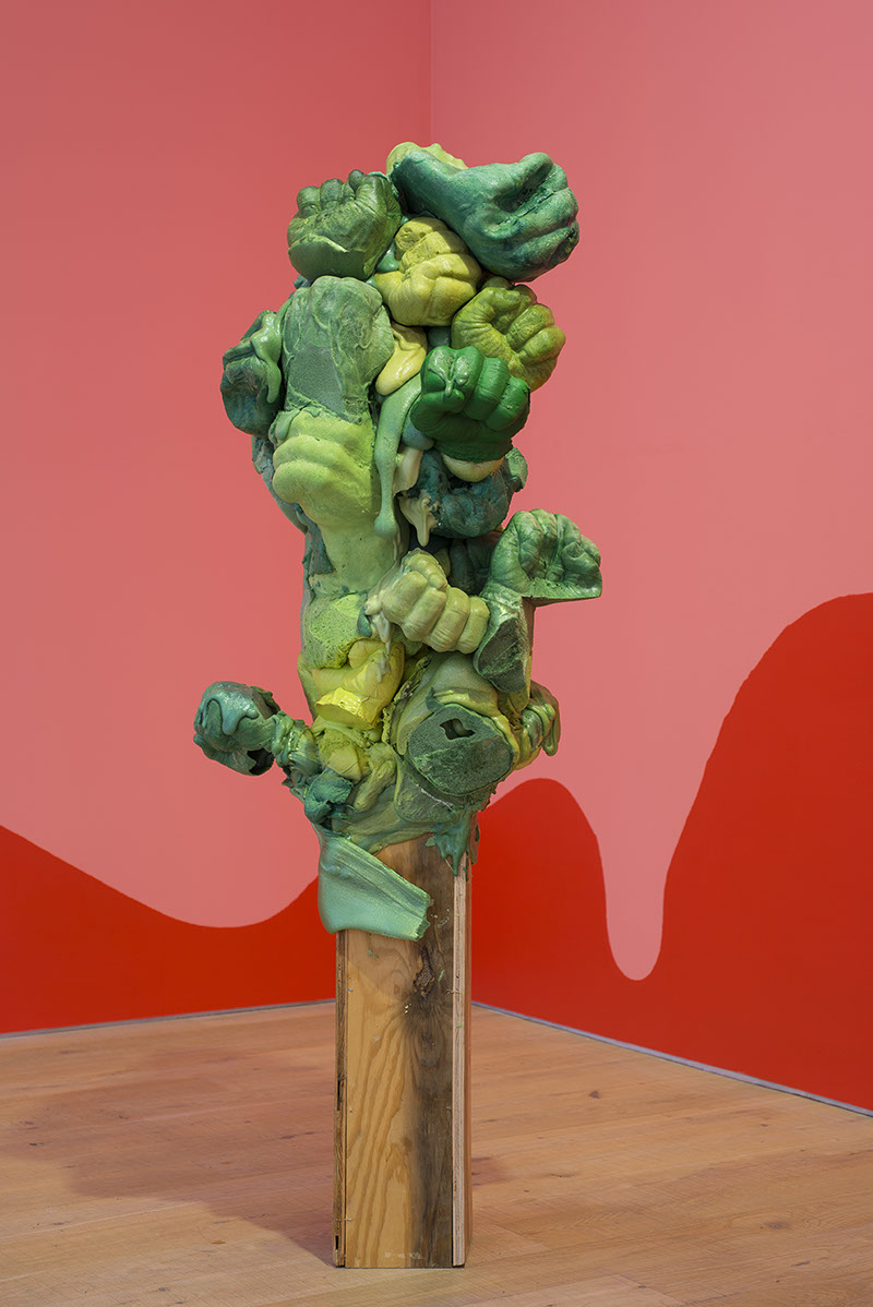 Catharine Ahearn Incredible Hulk, 2014. CHEWDAY'S. Czudej