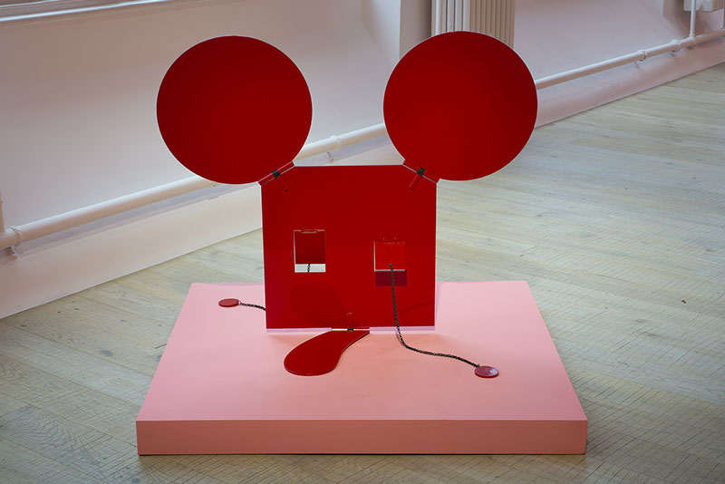Claes Oldenburg Geometric Mouse, Scale B (Red), 1971. CHEWDAY'S. Czudej